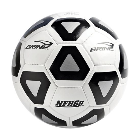 BRINE� Black / White VoracityT Soccer Ball - #5