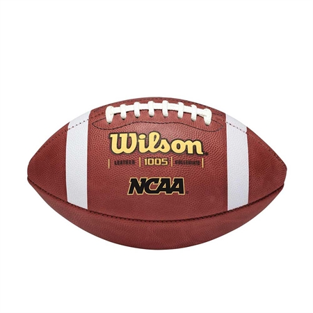 WILSON� NCAA� Leather Football