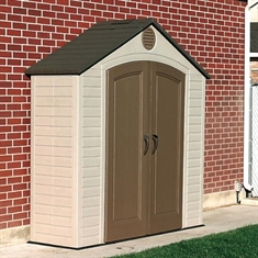 LIFETIME® Outdoor Storage Shed - 8' x 5'