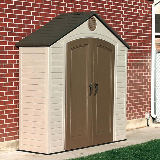 LIFETIMEu0026&;reg; Outdoor Storage Shed - 8u0026&;#39; x 5u0026&; & LIFETIME® Outdoor Storage Shed - 8u0027 x 5u0027 | FlagHouse