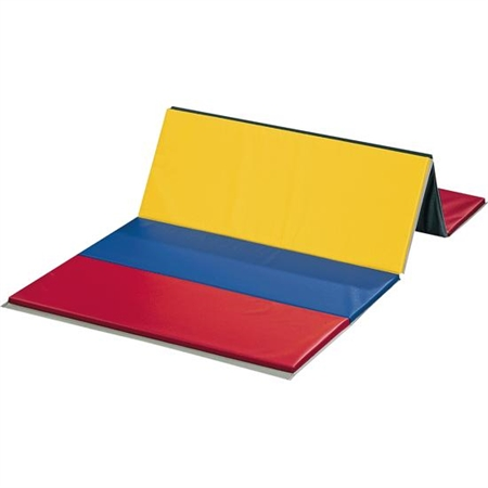 Polyethylene PE Rainbow Mat - 4 Side Hook and Loop Fasteners - 2' Panel - 4' x 6'