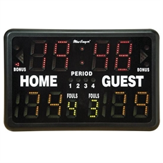 Outdoor Battery - Powered Multi - Sport Portable Scoreboard with Remote