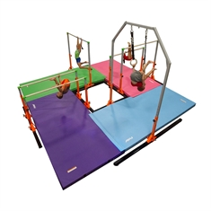 AAI® Elite Kids Gymnastics 4 - Station Circuit