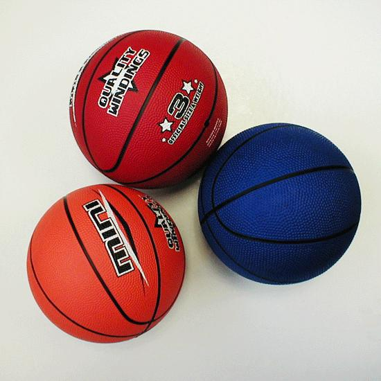 Basketballs in Color - Rubber - Mini - Size 3   FlagHouse