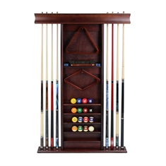 Cue Rack with Storage