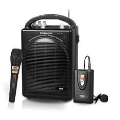 Pyle Rechargeable Portable Wireless PA System