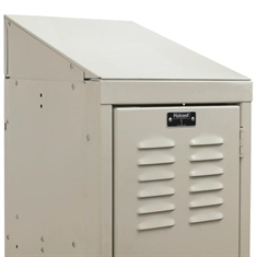 Decorative Locker Accessory – 3 - Wide Slope with End Closures