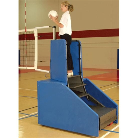 Freestanding Competition Portable Volleyball System