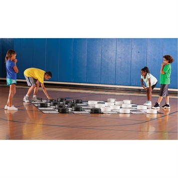 Giant Checkers Amp Mat Kit Flaghouse