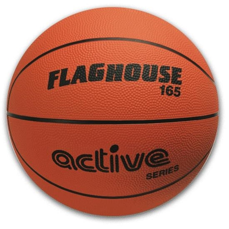 FLAGHOUSE Active Series Men's Rubber Basketball - Size 7