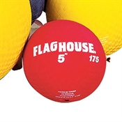 FLAGHOUSE Playground Ball - 5'' - Red
