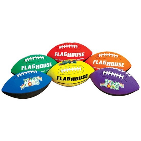 Flying Colors® Squish Football Set