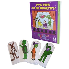 CATCH® It's Fun To Be Healthy Teacher's Manual and Hand Puppets