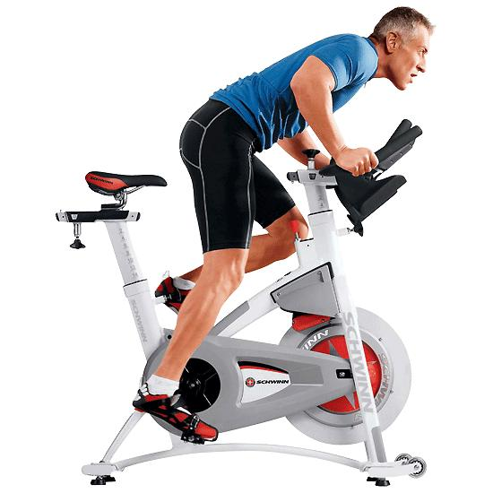 how to sit on a spin bike