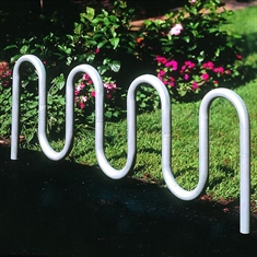 "Bike Rack - Inground - 7' 3"" Contemporary Loop"