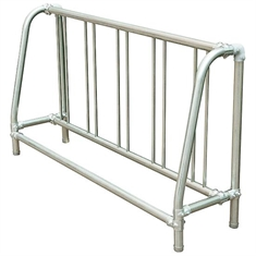 Bike Rack - Single - sided - 8' Traditional