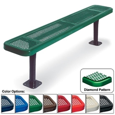 Bench without Back - Diamond - 6'