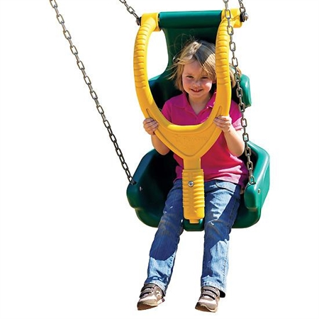 Made For Seat. Ages 5-12, 3 1/2' Swing Frame