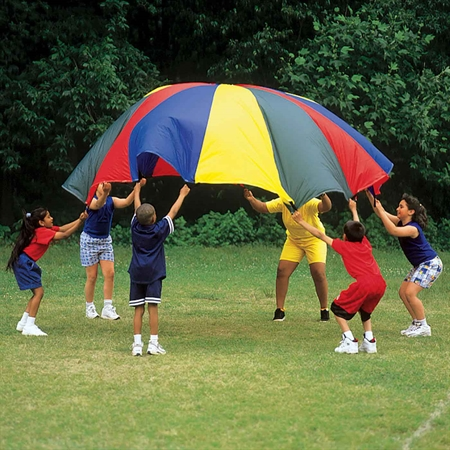 FlagHouse Traditional 45' Web-Handled Parachute