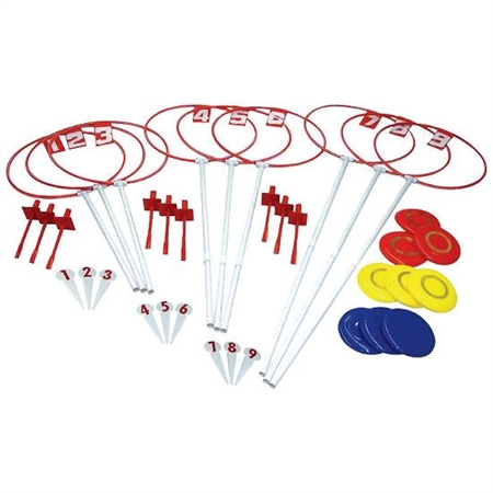Deluxe Disc Outdoor Golf Set