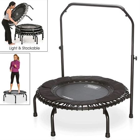Fitness Trampoline - 37' with Safety Handlebar