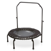 "Fitness Trampoline – 37""-Dia. with Safety Handlebar"