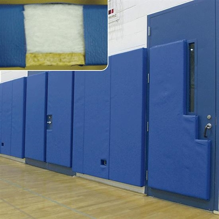 EnviroSafeT 1.5'-Thick Extra Firm Panel Meet Wall Padding ASTM F-244-0 - 2'x7'