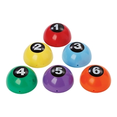 Inflatable Numbered Domes Set