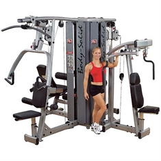 FlagHouse Four-Stack Pro Dual Gym