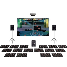iDANCE Arcade 8-Player System with 8 Additional Practice Mats