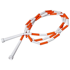 Bullying Awareness Orange Beaded Jump Rope - 9'