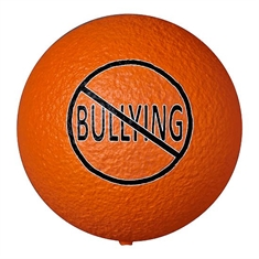 "Bullying Awareness Dino Skin™ 7"" Medium Bounce Ball"