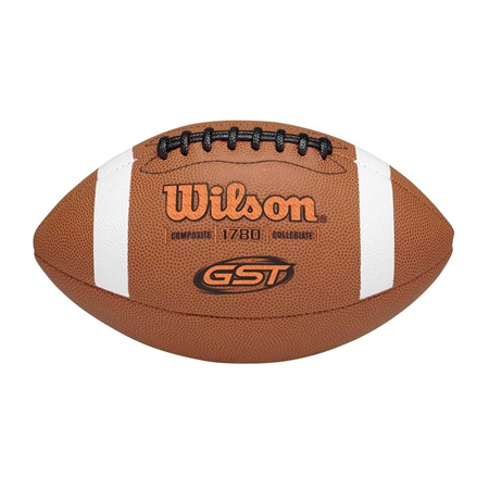 Wilson-� GST Composite Leather Game Ball