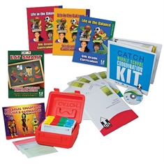 6-8 Classroom Curriculum Set + Middle School Coordination Kit + 6-8 Physical Education Kit + Eat Smart Manual