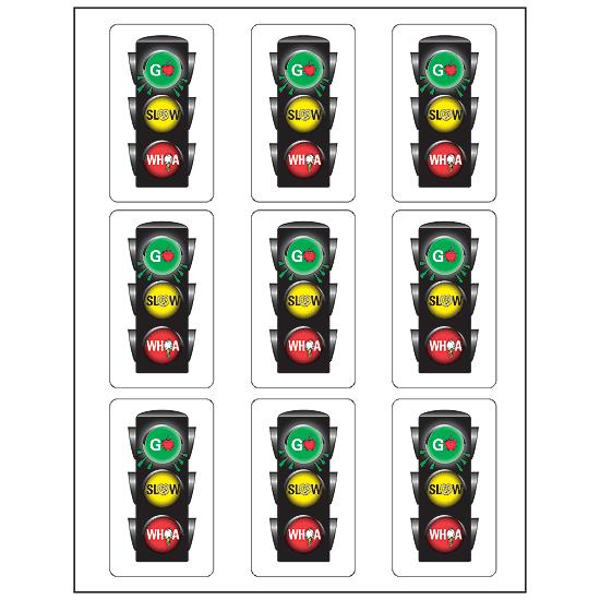Go Slow Whoa® Stickers | FlagHouse