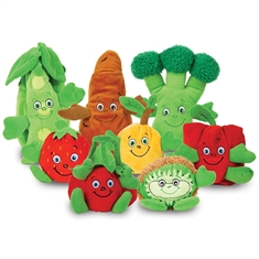GARDEN HEROES® Plush Set – 8 Piece
