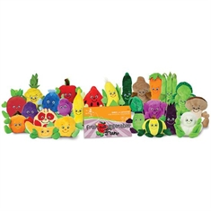 GARDEN HEROES® Plush Set – 24 Piece with Fun Book
