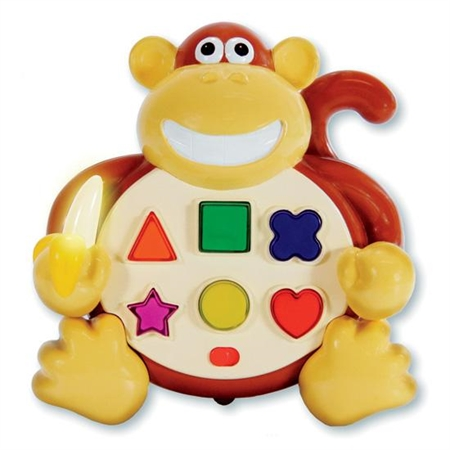 Colors and Shapes Monkey