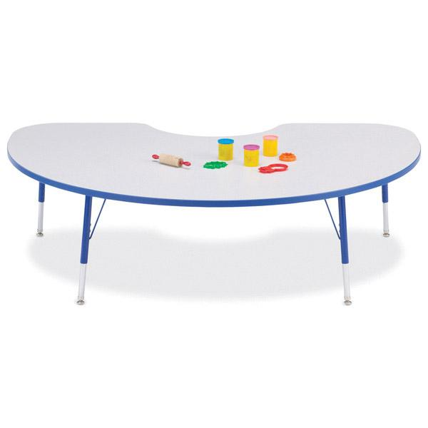 Attrayant ... Kidney Shaped Activity Table   Rainbow Accent   Thumbnail 2 ...