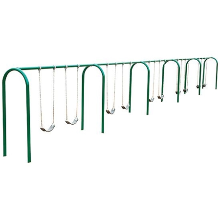 Arch Swings with Strap Seats