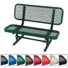 Perforated Child's Bench