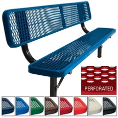 Supervisor Bench - Surface - 8' Perforated Pattern