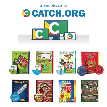 CATCH K-5 Classroom Curriculum Set and CATCH.org Bundle