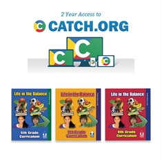 CATCH 6-8  Classroom Curriculum Set and CATCH.org  Bundle