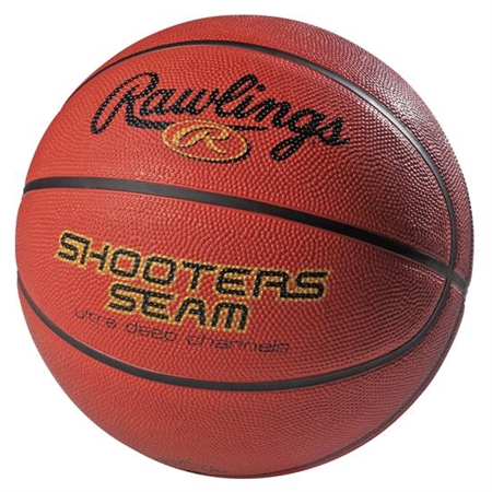RAWLINGS� Rubber Men's - Size 7 Basketball