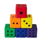 Colored Dice - Set of 6 - Thumbnail 1