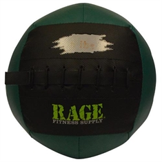 "RAGE® 10"" Light Medicine Balls - 6 lb black/green"