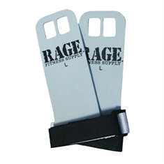 RAGE® Leather Hands Grips - Large