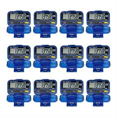 Robic® M309 Pedometer - 12 pack
