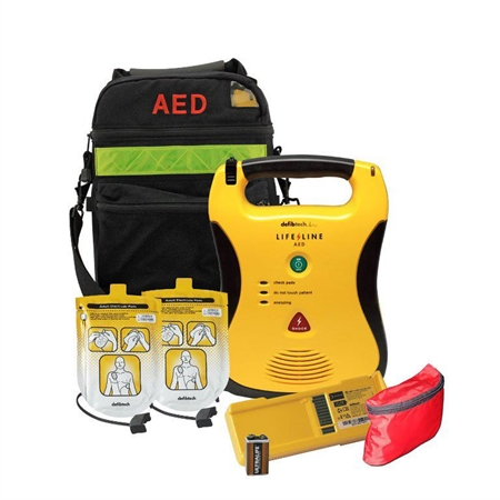 Lifeline AED With Soft Case